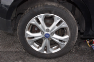 "GENUINE FORD GALAXY S-MAX 17"" 225 50 17 TITANIUM X ALLOY WHEEL 5 SPOKE 2010-2014"